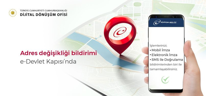 e-Devlet Adres DeÄŸiÅŸikliÄŸi