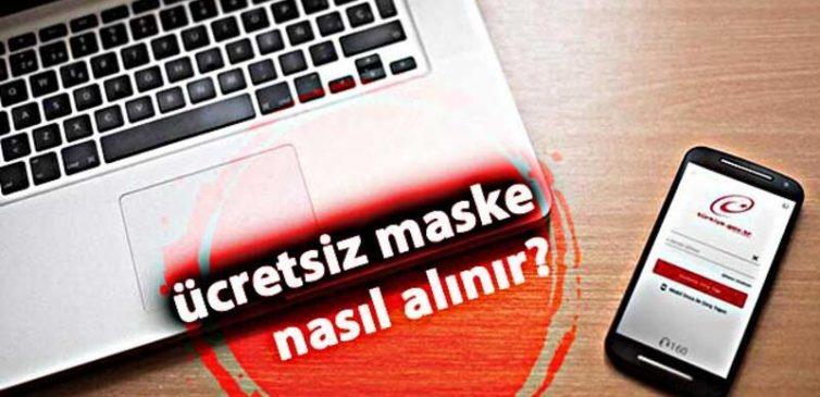 e-Devlet Ücretsiz Maske Dağıtımı